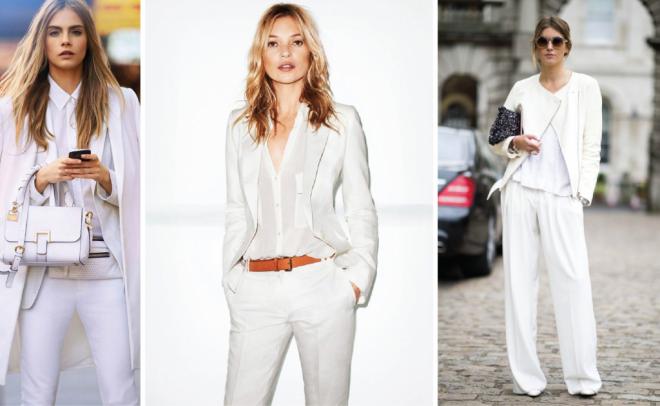 Il colore bianco: protagonista d'estate e d'inverno!