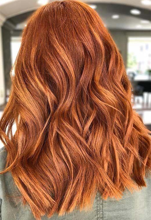 colore rosso capelli 2021